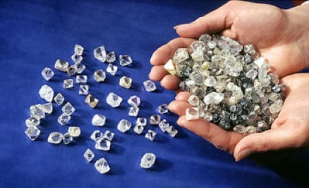 россыпь алмазов