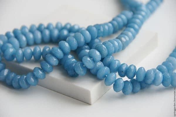 нефрит голубого цвета