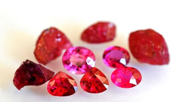 рубин камень