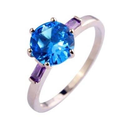 турмалин синего цвета