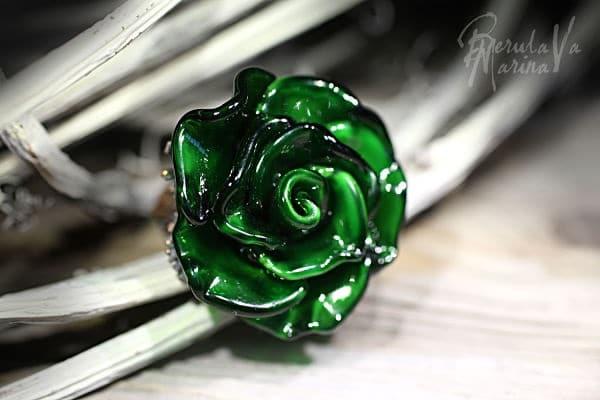 зеленый хрусталь