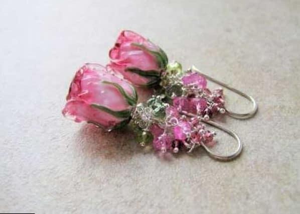 турмалин розового цвета